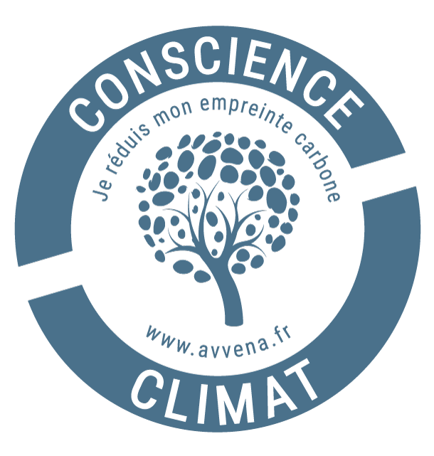 logo conscience climat je réduis mon empreinte carbone