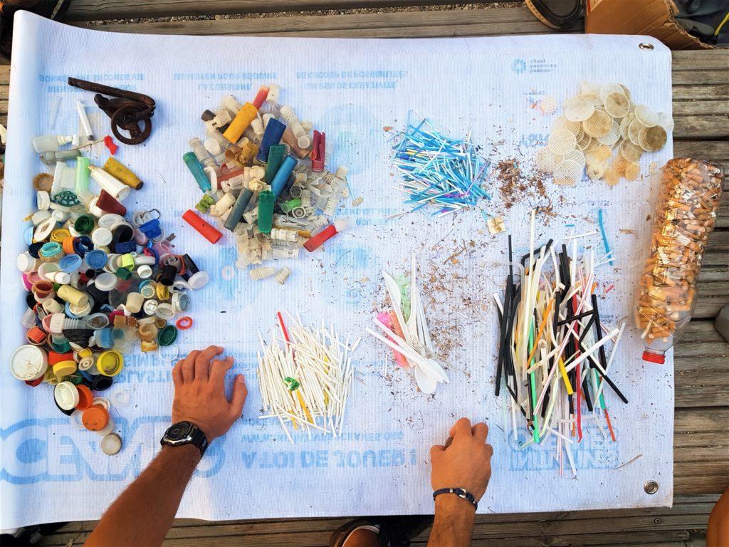 lutte contre la pollution plastique mer et ocean plastique en mediterranee